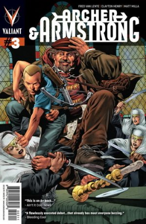 Archer and Armstrong # 3 Issues V2 (2012 - 2014)
