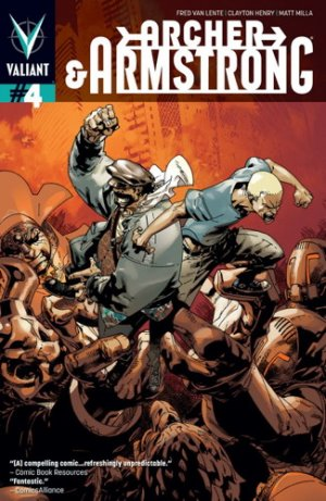 Archer and Armstrong # 4 Issues V2 (2012 - 2014)