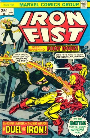 Iron Fist édition Issues V1 (1975 - 1977)