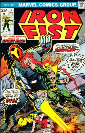 Iron Fist # 3 Issues V1 (1975 - 1977)