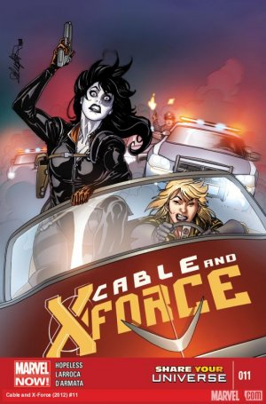 Cable and X-Force # 11 Issues (2012 - 2014)