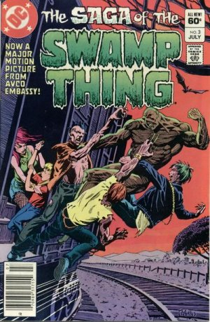 The saga of the Swamp Thing # 3
