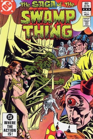The saga of the Swamp Thing 7