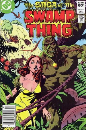 The saga of the Swamp Thing # 8