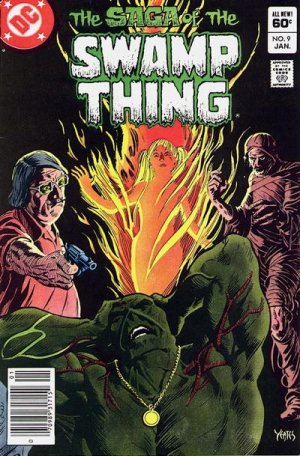 The saga of the Swamp Thing # 9