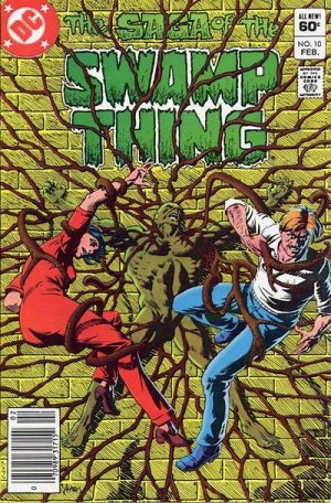 The saga of the Swamp Thing 10