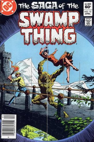 The saga of the Swamp Thing # 12