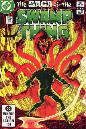The saga of the Swamp Thing 13