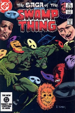 The saga of the Swamp Thing 16