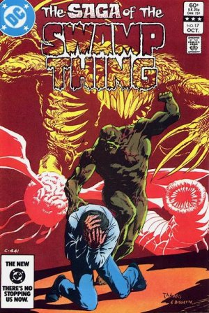 The saga of the Swamp Thing 17