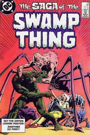 The saga of the Swamp Thing # 19