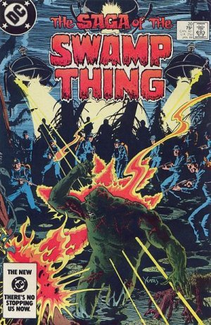 The saga of the Swamp Thing # 20