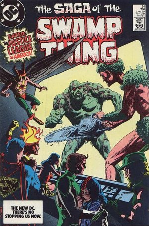 The saga of the Swamp Thing # 24 Issues (1982 - 1985)