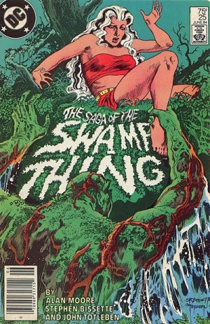 The saga of the Swamp Thing 25