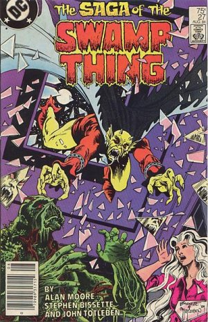 The saga of the Swamp Thing # 27