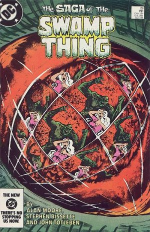 The saga of the Swamp Thing 29