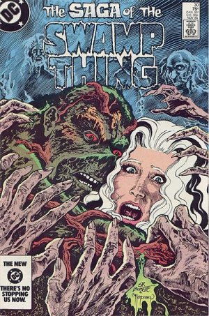 The saga of the Swamp Thing 30