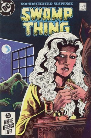 The saga of the Swamp Thing # 33