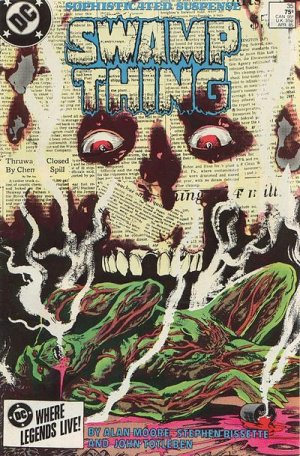 The saga of the Swamp Thing # 35