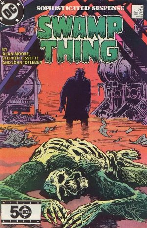 The saga of the Swamp Thing # 36