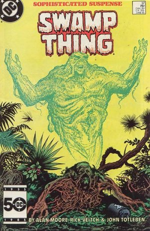 The saga of the Swamp Thing # 37