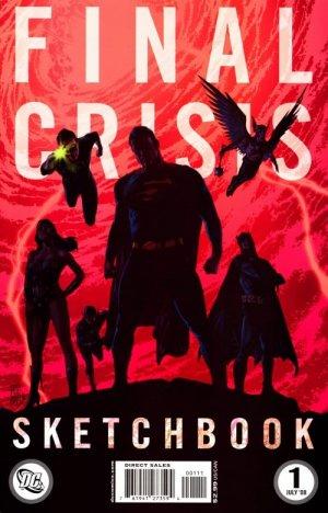 Final Crisis Sketchbook édition Sketchbook