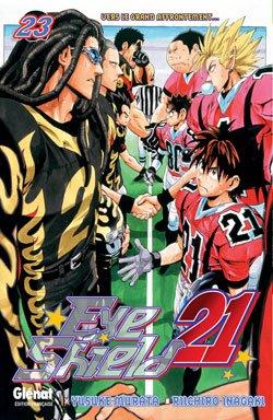 couverture, jaquette Eye Shield 21 23  (Glénat Manga)