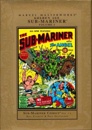 Marvel Masterworks - Golden Age Sub-Mariner édition TPB Hardcover (2005 - 2009)
