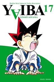 couverture, jaquette Yaiba 17  (soleil manga)