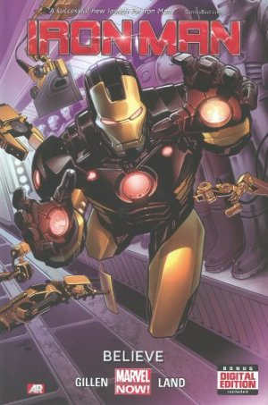 Iron Man édition TPB Hardcover - Issues V5
