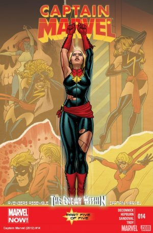 Captain Marvel # 14