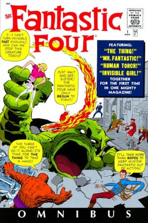 Fantastic Four # 1 TPB Hardcover - Omnibus - Issues V1