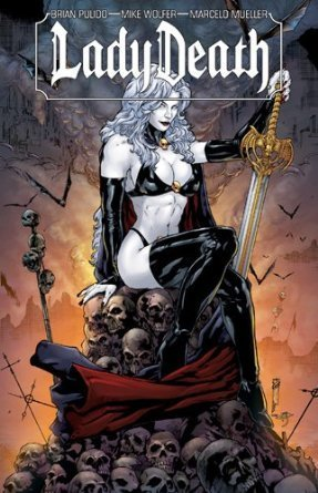 Lady Death édition TPB softcover (souple)