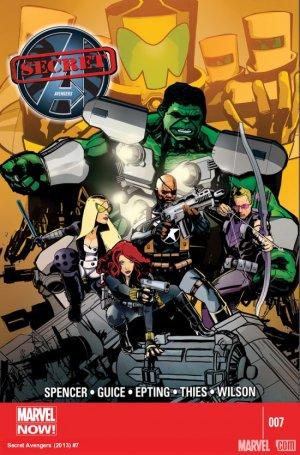 Secret Avengers # 7 Issues V2 (2013 - 2014)