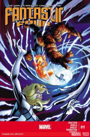Fantastic Four # 11 Issues V4 (2013 - 2014)