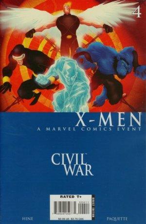 Civil War - X-Men # 4 Issues (2006)