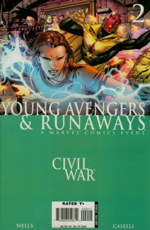 Civil War - Young Avengers and Runaways # 2 Issues