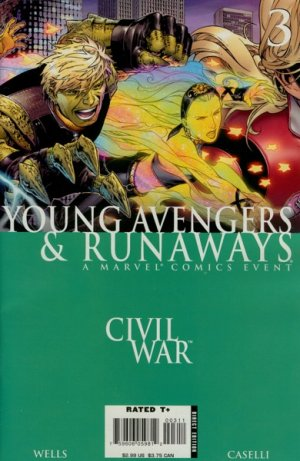 Civil War - Young Avengers and Runaways # 3 Issues