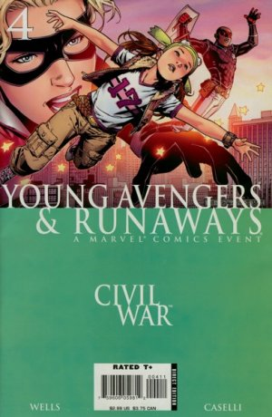 Civil War - Young Avengers and Runaways # 4 Issues