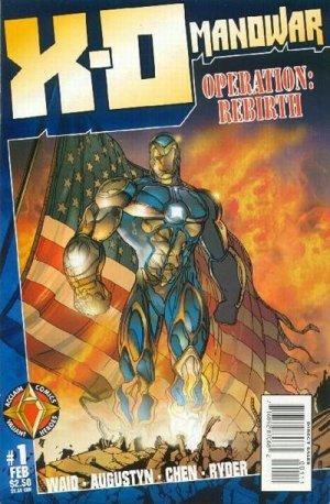 X-O Manowar édition Issues V2 (1996 - 1998)
