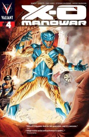 X-O Manowar # 4 Issues V3 (2012 - 2016)