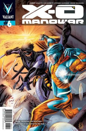 X-O Manowar # 6 Issues V3 (2012 - 2016)