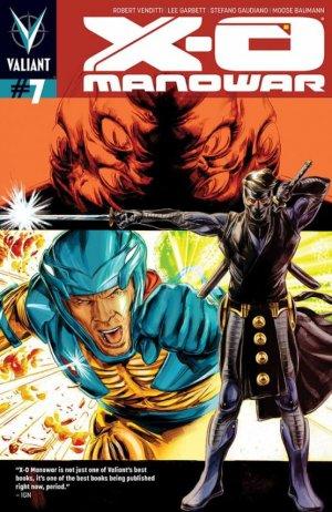 X-O Manowar # 7 Issues V3 (2012 - 2016)