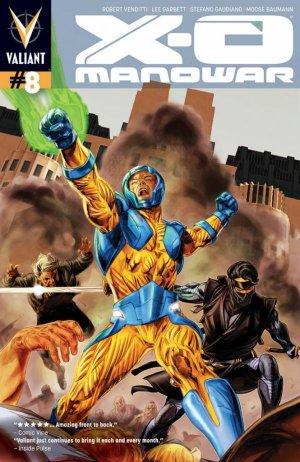 X-O Manowar # 8 Issues V3 (2012 - 2016)