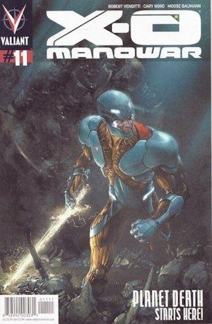 X-O Manowar # 11 Issues V3 (2012 - 2016)