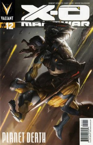 X-O Manowar # 12 Issues V3 (2012 - 2016)