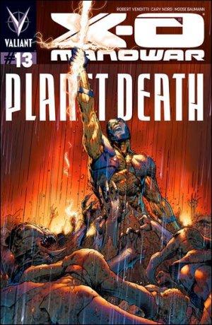 X-O Manowar # 13 Issues V3 (2012 - 2016)