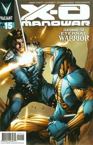 X-O Manowar # 15 Issues V3 (2012 - 2016)