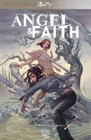 Angel & Faith # 3 TPB hardcover (cartonnée)
