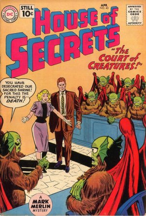 Maison des secrets # 43 Issues V1 (1956 - 1978)